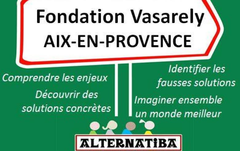 Village des alternatives, Aix en Provence, 27 & 28 Novembre 2015
